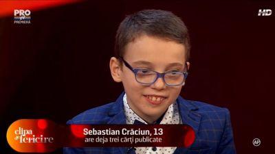 Povestea emotionanta a baietelului poet:  Din cuvantul dizabilitate ma caracterizeaza ultimele noua litere: ABILITATE