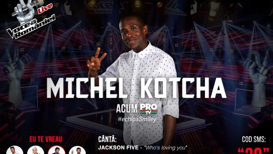 Vocea Romaniei - Semifinala 2015: Michel Kotcha - Who's Loving You