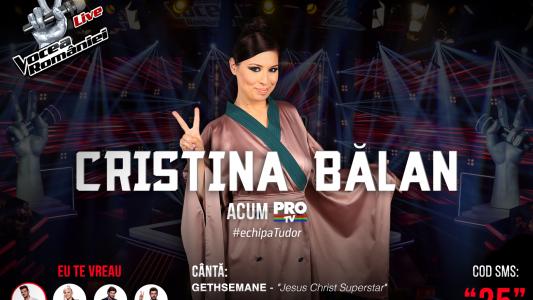 Vocea Romaniei - Semifinala 2015: Cristina Balan - Jesus Christ Superstar