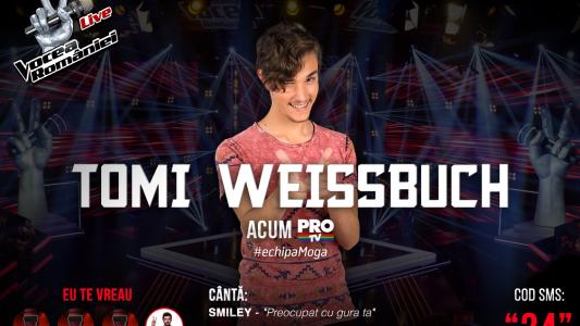 Vocea Romaniei - Semifinala 2015: Tomi Weissbuch - Preocupat Cu Gura Ta