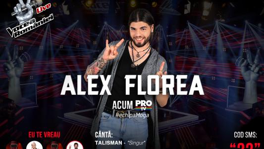 Vocea Romaniei - Semifinala 2015: Alex Florea - Atat De Singur