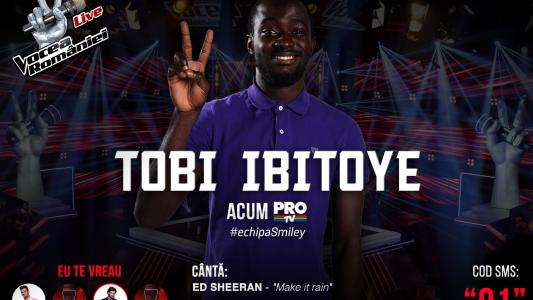 Vocea Romaniei - Semifinala 2015: Tobi Ibitoye - Make It Rain