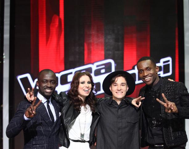 Michel, Tobi, Cristina si Tomi sunt finalistiiVocea Romaniei! In premiera, un antrenor nu are concurent in marea finala!