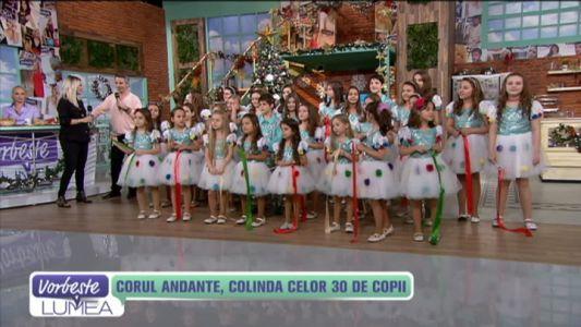 Corul Andante, colinda celor 30 de copii