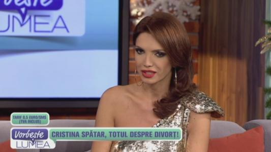 Cristina Spatar, totul despre divort