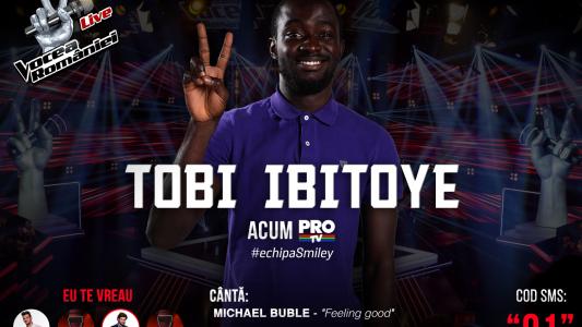 Vocea Romaniei - Finala 2015: Tobi Ibitoye - Feeling Good