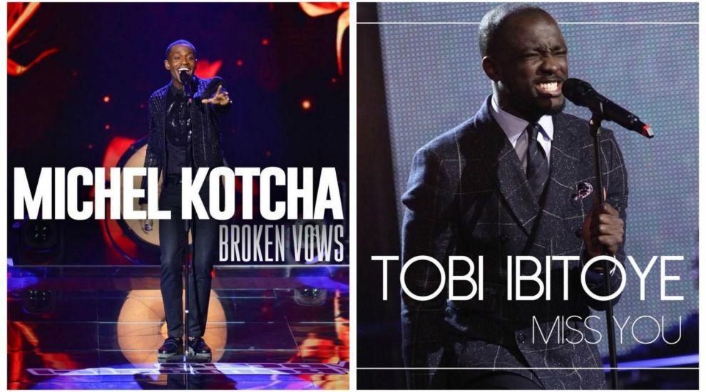 Michel Kotcha si Tobi Ibitoye, finalistii lui Smiley de la Vocea Romaniei, au lansat primele lor single-uri. PLAY!