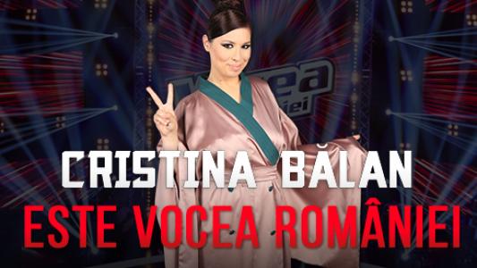 Vocea Romaniei - Finala 2015: Cristina Balan este castigatoarea sezonului 5