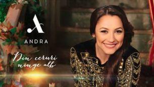 """Andra a lansat piesa """"Din ceruri ninge alb"""", care a devenit cea mai cautata piesa de pe YouTube in mai putin de 24 ore"""