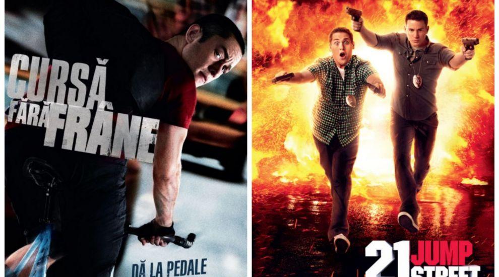 Filme de weekend: ASTAZI, de la 20:30,  Premium Rush  si de la 22:05,  21 Jump Street