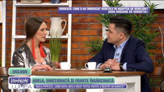 """Adela Popescu este noua prezentatoare de la """"Vorbeste Lumea"""""""