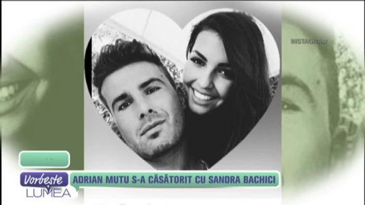 Adrian Mutu s-a casatorit cu Sandra Bachici