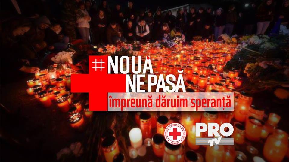 Campania  Noua ne pasa. Impreuna daruim speranta!  continua sa sprijine victimele incendiului din Colectiv