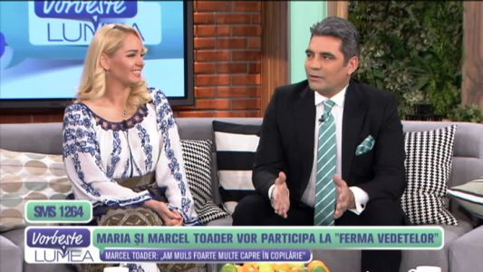 "Marcel si Maria Toader vor participa la ""Ferma vedetelor"""