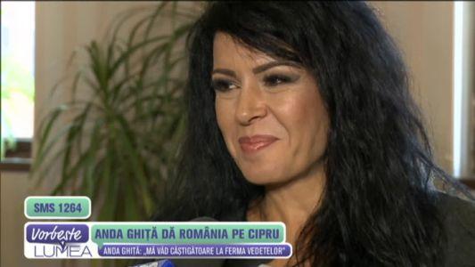 Anda Ghita da Romania pe Cipru