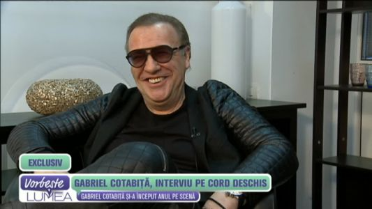 Gabriel Cotabita, interviu pe cord deschis