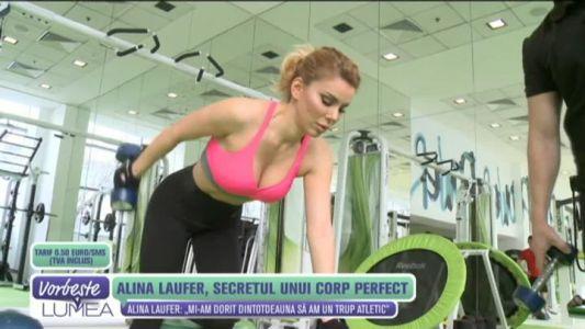 Alina Laufer, secretul unui corp perfect