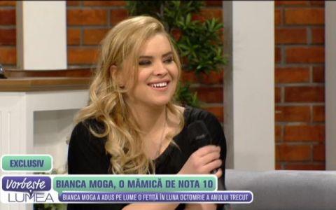 Bianca Moga, o mamica de nota 10. Prima aparitie publica a sotiei lui Marius Moga dupa nasterea micutei Maria Elisabeta