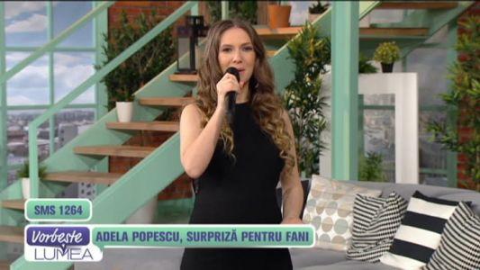 Adela Popescu, surpriza pentru fani