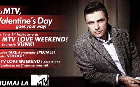 MTV Romania iti aduce dragostea de Valentine rsquo;s Day alaturi de VUNK!