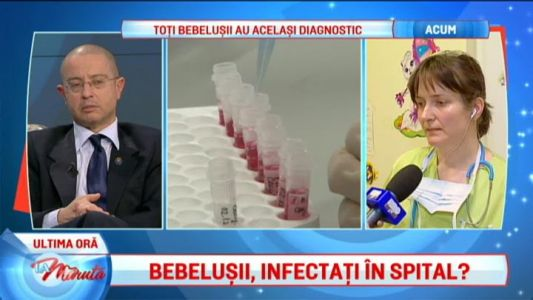 Bebelusi, infectati in spital?