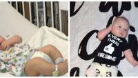 I-a facut o poza bebelusului ei si a ramas fara cuvinte cand a vazut ce are la ochi. Detaliul care a ingrozit-o