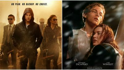 Cele mai bune filme se vad la PROTV:  Misiune imposibila: Protocolul fantoma  - Sambata si  Titanic  - Duminica