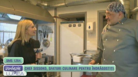 Chef Sissoko, sfaturi culinare pentru indragostiti