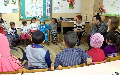 Catalin Maruta, profesor pentru o zi in cadrul programului Fiecare Copil in Gradinita