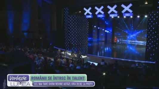Romanii au Talent, astazi, la 20:30, la ProTV