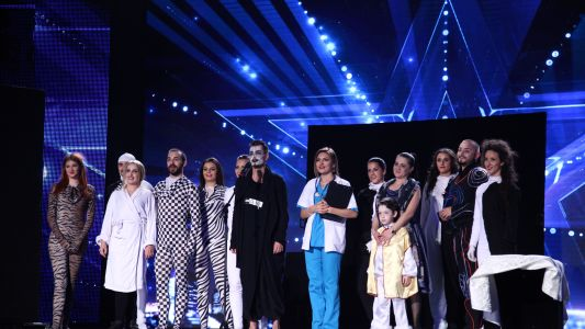 Romanii au talent 2016: The Sky - Dans contemporan