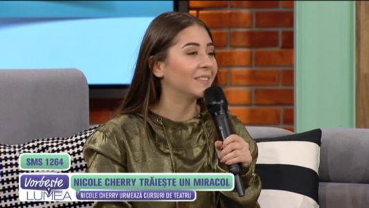 Nicole Cherry traieste un miracol