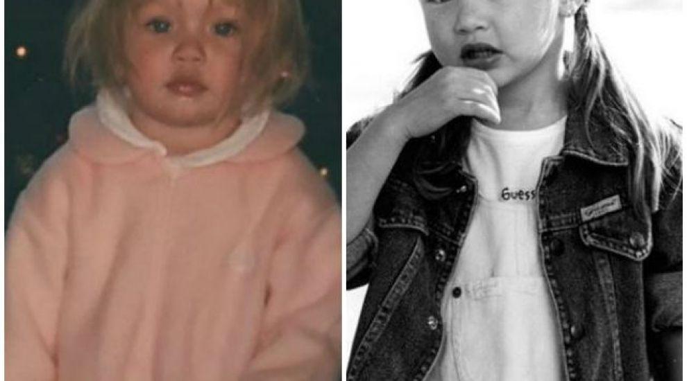 E cel mai sexy model din lume, insa si in copilarie era la fel la simpatica. Cine e micuta din imagini si cum arata acum