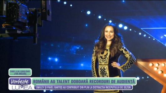 """Romanii au talent"", doboara recorduri de audienta"