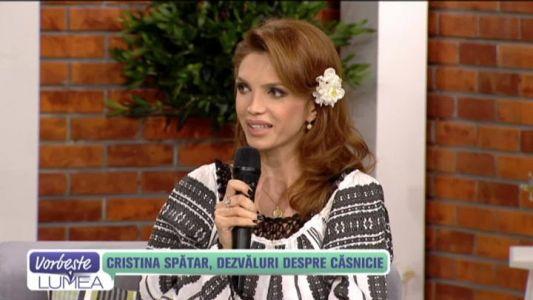Cristina Spatar, dezvaluiri despre casnicie