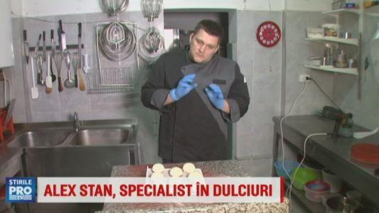 Alex Stan, specialistul in dulciuri de la Bake Off Romania