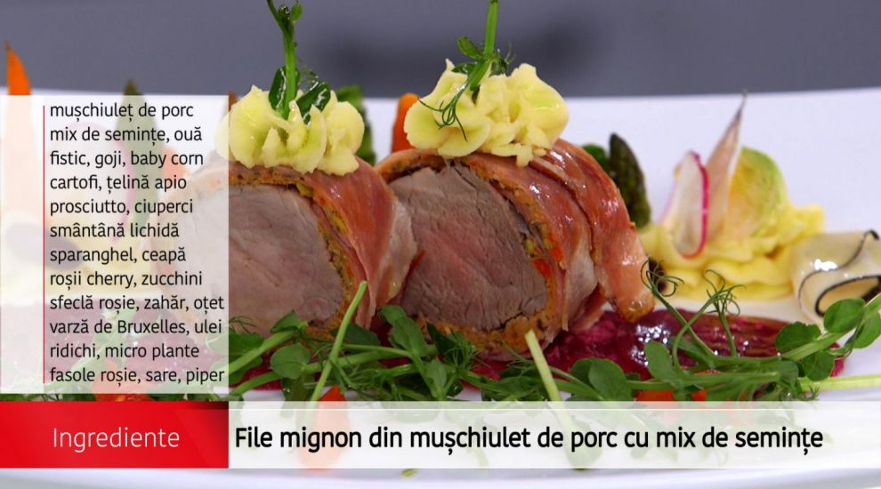 "File Mignon de porc ""Arena bucatarilor"""