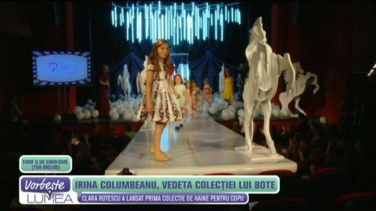 Irina Columbeanu, vedeta colectiei lui Bote