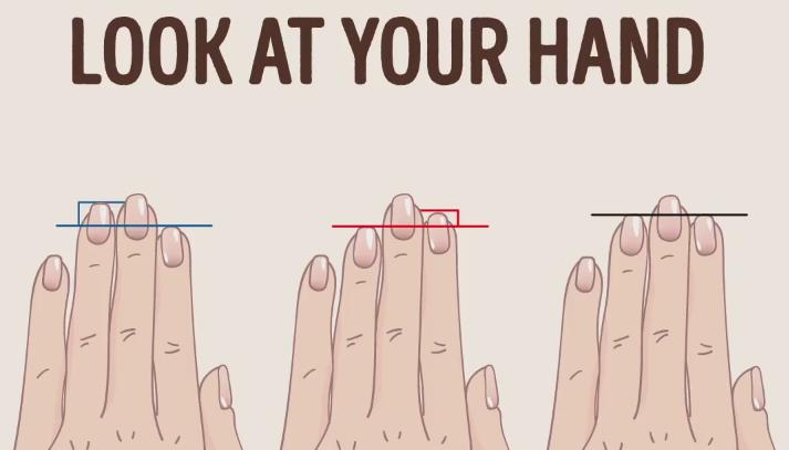 Ce spun degetele despre tine! Descopera-ti personalitatea dupa lungimea degetului inelar si a aratatorului