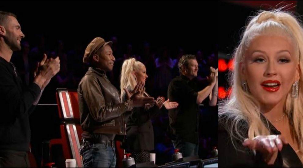 A intors toate scaunele juratilor!  Ma simt de parca as fi fanul tau , i-a spus Christina Aguilera, dupa ce a ascultat-o