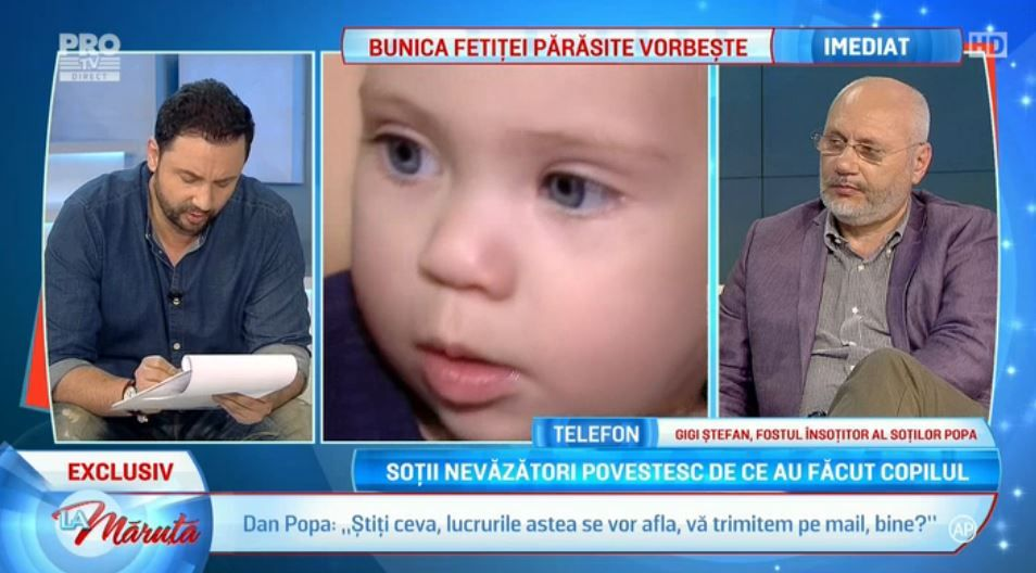 Familia de nevazatori care si-a abandonat fetita, reactie soc. Mesajul trimis de cei doi emisiunii La Maruta
