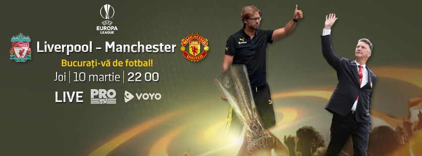 Duel istoric in Europa: Liverpool ndash; Manchester United se vede LIVE, joi, de la 22:00, la PRO TV!