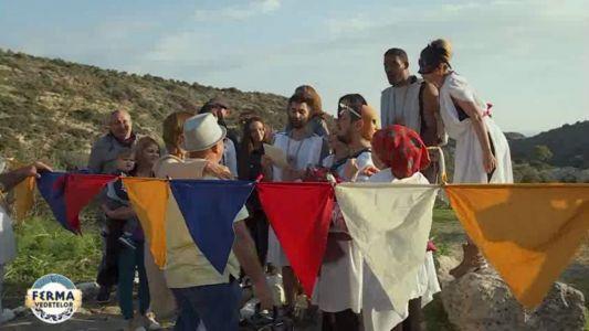 Concurentii de la Ferma Vedetelor au organizat o petrecere in stil cipriot