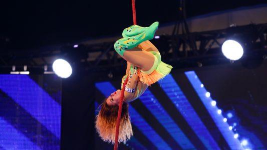 Romanii au talent 2016: Olga Guseza - Acrobatii la inaltime