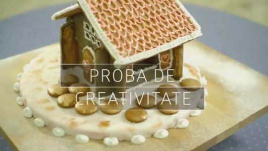 Proba de creativitate aduce spectacolul la Bake Off Romania. Ne vedem azi de la ora 21:00 la ProTV