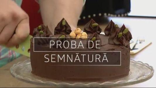 Proba de semnatura - Azi la Bake Off Romania, de la ora 20:30, la ProTV