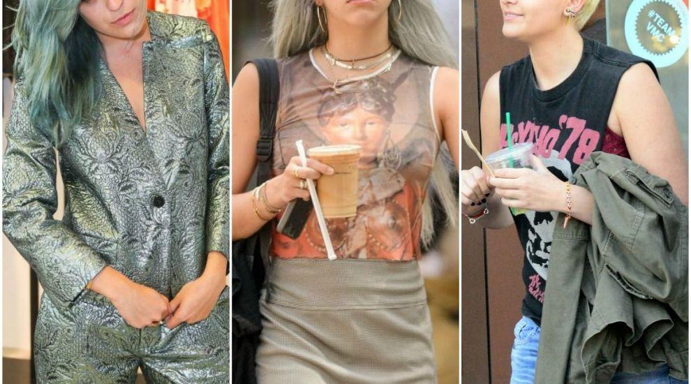 Ele sunt fiicele rebele ale starurilor de la Hollywood. Tinerele care s-au plictisit de imaginea de fete bune :)