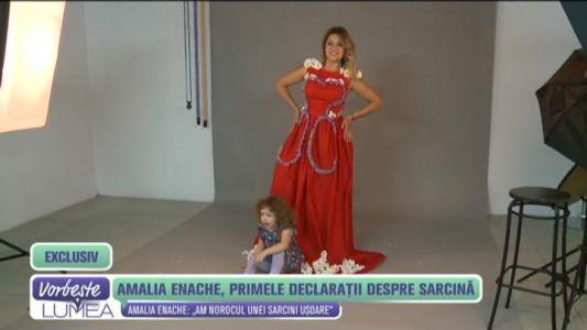 Amalia Enache, primele declaratii despre sarcina