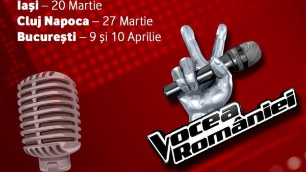 Preselectiile Vocea Romaniei au loc weekend-ul acesta la Iasi!
