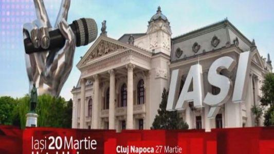 Vino la preselectiile Vocea Romaniei, la Hotelul UNIREA din IASI si cucereste o tara intreaga!